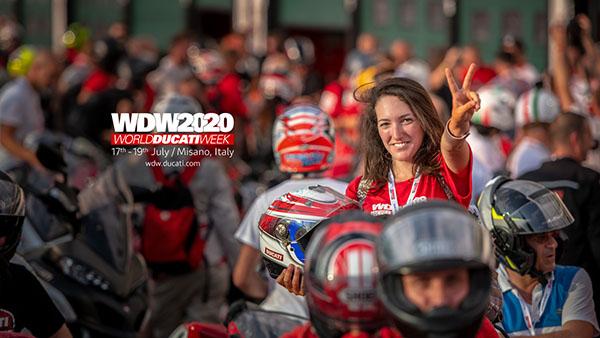 Ducati announces the dates of World Ducati Week 2020